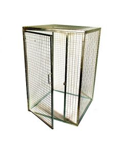Wire Mesh Cages Flat-packed