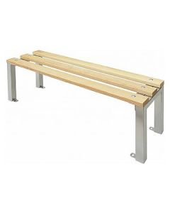 Wooden Slat Cloakroom Benches