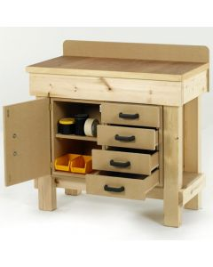 Below Workbench Accessories for Timber Workbenches
