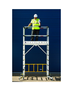 Zarges Teletower Telescopic Scaffold Tower