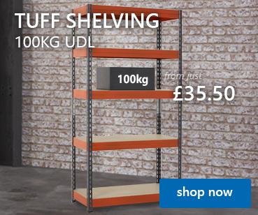 TUFF 100kg Shelving