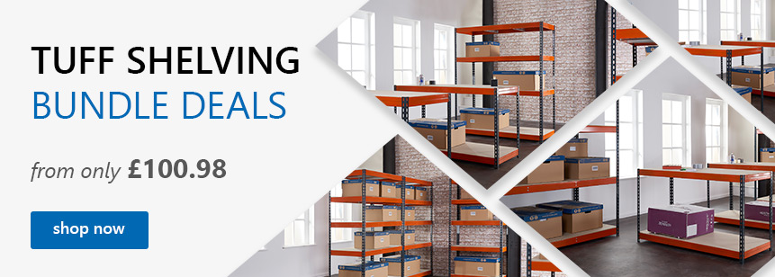 TUFF Shelving Bundle Deals